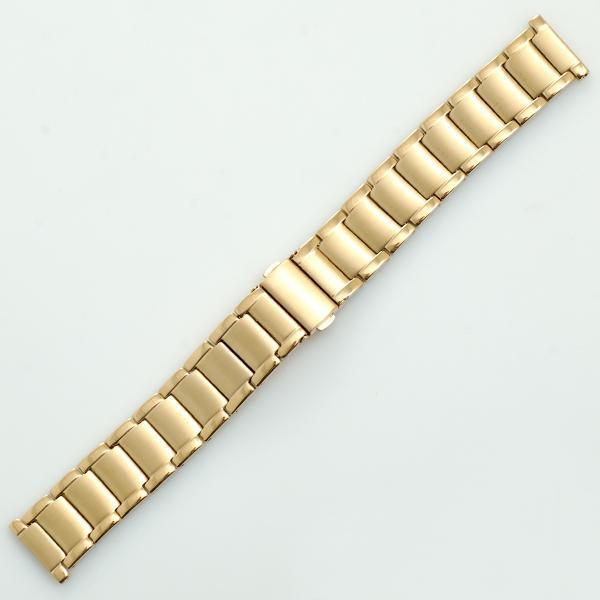 Bratara ceas otel PVD auriu nr. 76 [20-8PVD69]