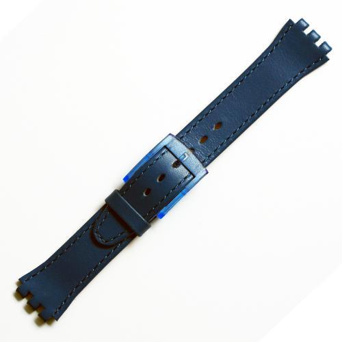 Curea ceas tip Swatch din piele naturala nr. 188 [17-SW12]
