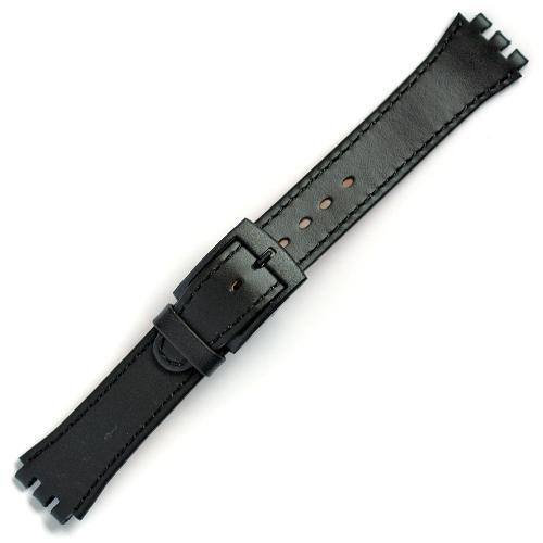 curea ceas tip swatch din piele naturala nr. 190 [17-sw12]