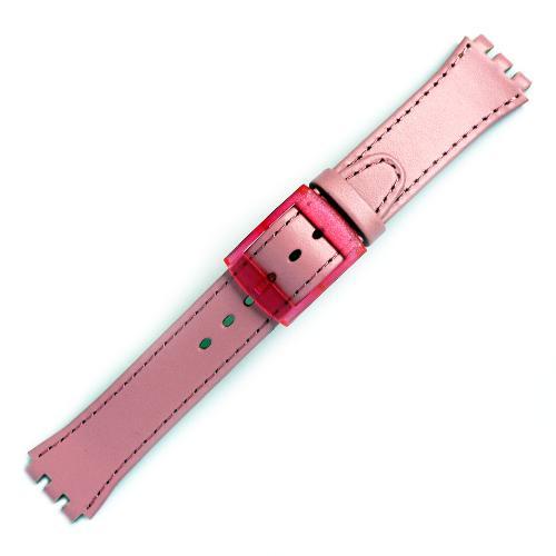 curea ceas tip swatch din piele naturala nr. 193 [17-sw12]