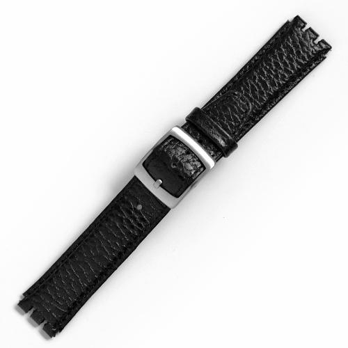 curea ceas tip swatch din piele naturala nr. 195 [17-sw15]