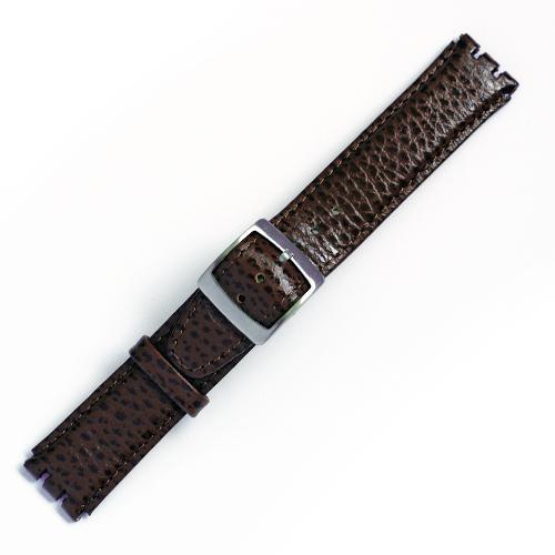 Curea ceas tip Swatch din piele naturala nr. 196 [17-SW15]