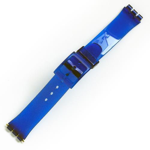 curea ceas tip swatch din plastic nr. 209 [17-sw35]