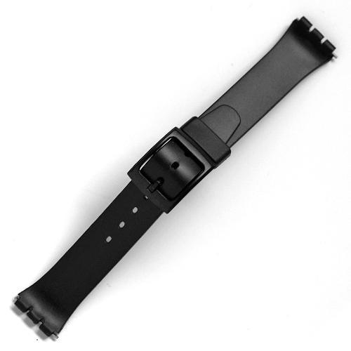 curea ceas tip swatch din plastic nr. 211 [17-sw35]