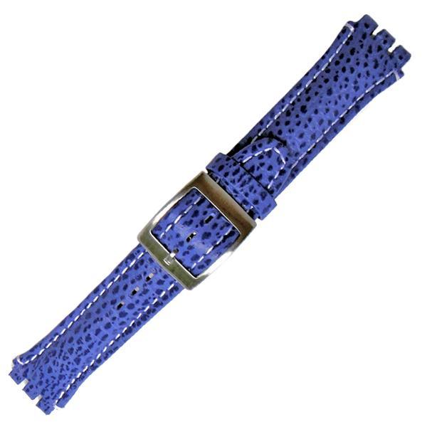 curea ceas tip swatch din piele naturala nr. 285 [19-sw18]