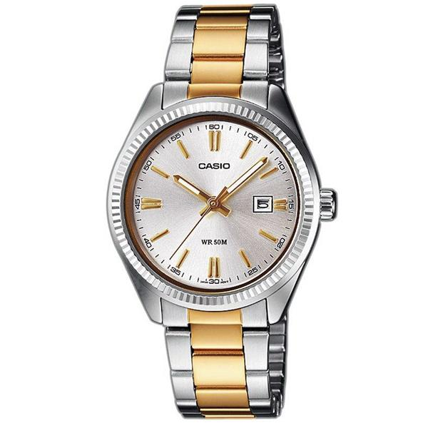ceas casio ladies dress ltp-1302sg-7av