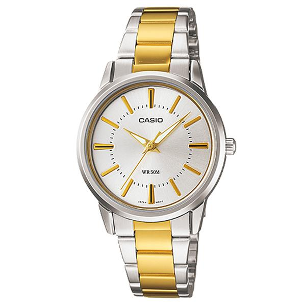 ceas casio ladies dress ltp-1303sg-7av