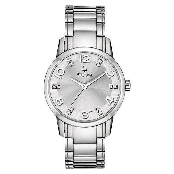 ceas bulova ladies' diamond 96p111