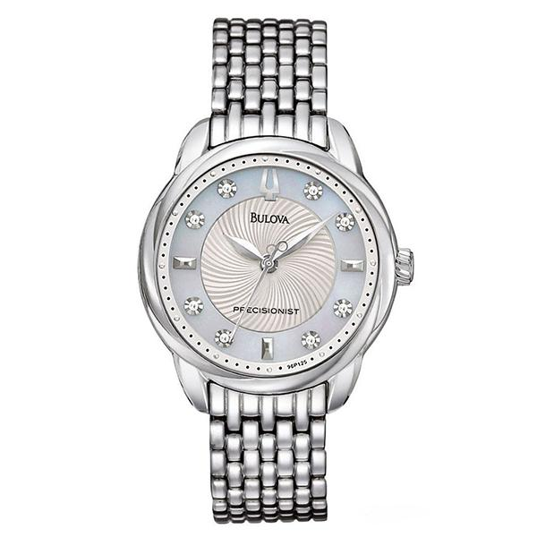 ceas bulova ladies' precisionist 96p125