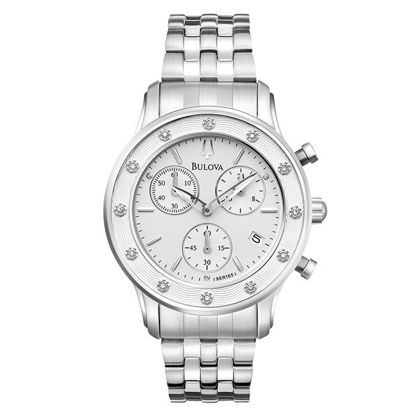 ceas bulova ladies' diamond 96r165