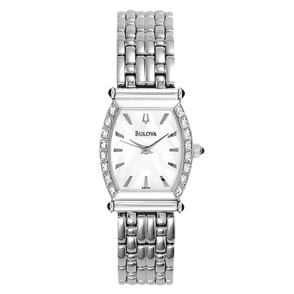 ceas bulova ladies' diamond 96r39