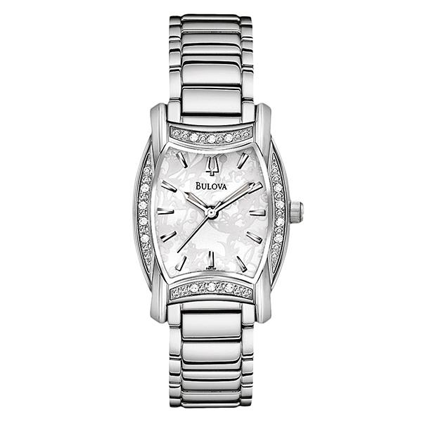 ceas bulova ladies' diamond 96r135