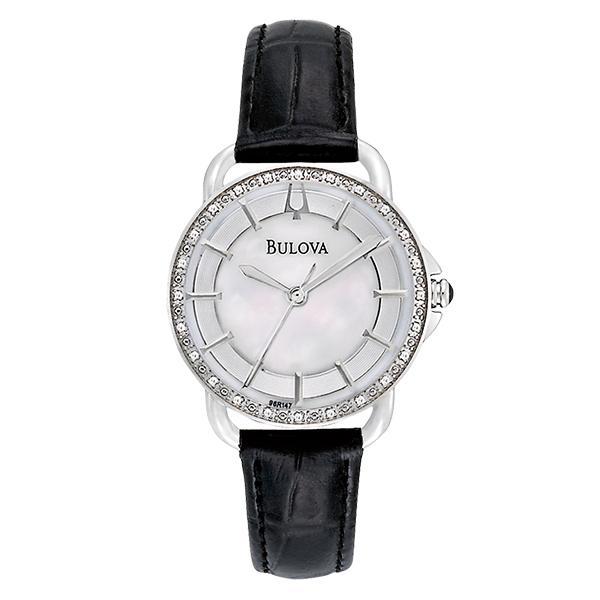 ceas bulova ladies' diamond 96r147
