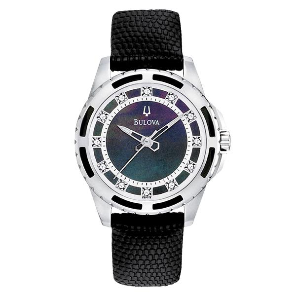 ceas bulova ladies' diamond 98p118