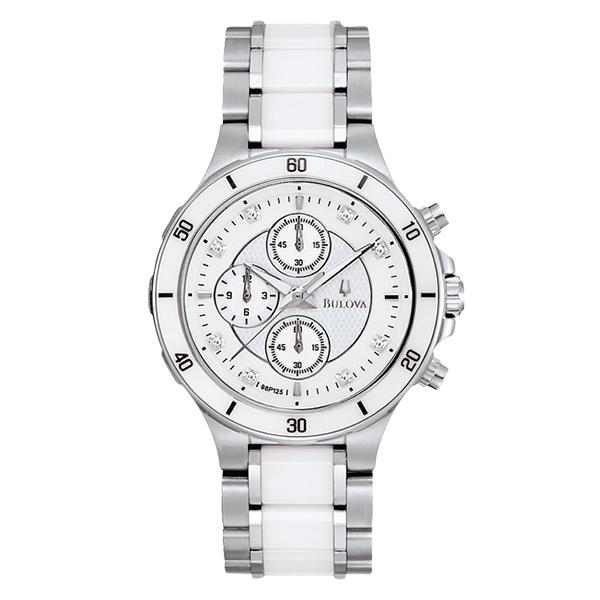 ceas bulova ladies' diamond 98p125