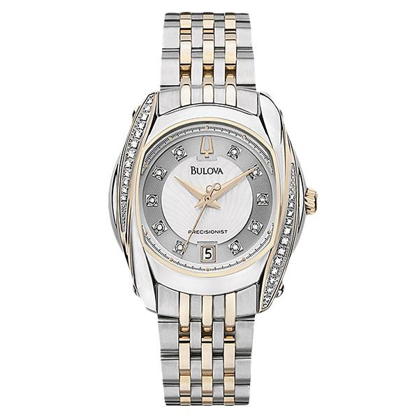 ceas bulova ladies' precisionist 98r141