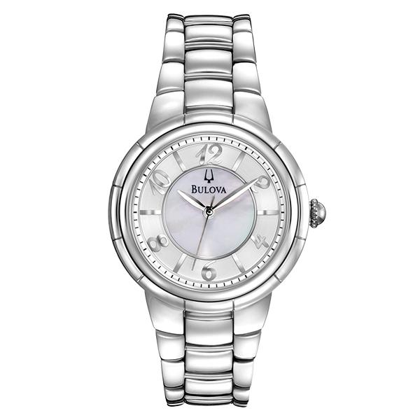 ceas bulova ladies' diamond rosedale 96l169
