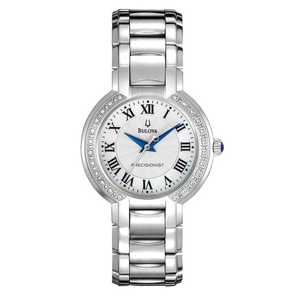 ceas bulova ladies' precisionist fairlawn 96r167