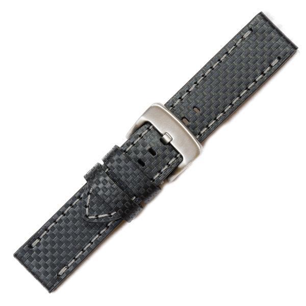 curea ceas piele naturala nr. 357 [24-carbon]