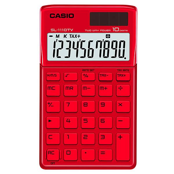 Calculator Casio Sl-1110tv-rd