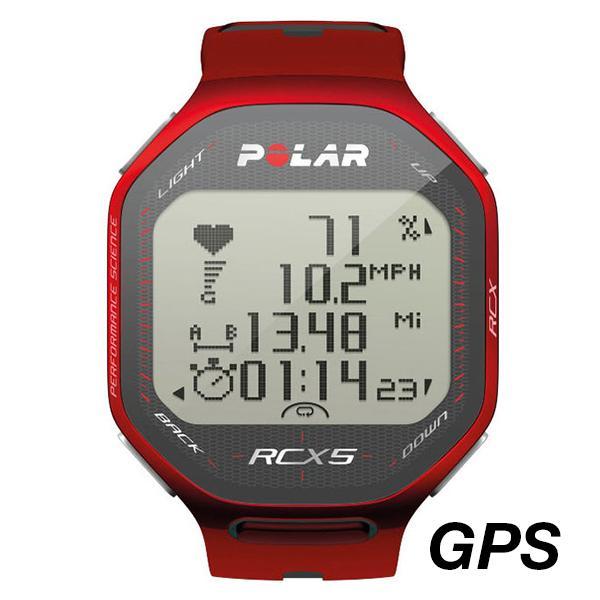 Ceas sport unisex Polar RCX5 GPS rosu