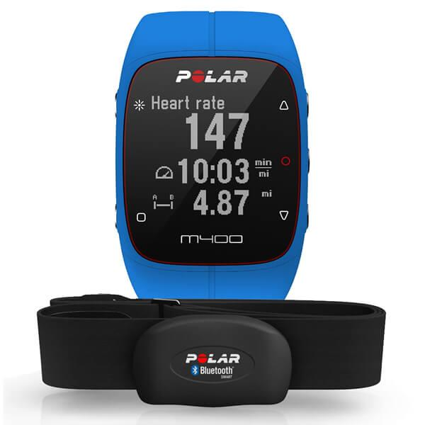 ceas polar m400 gps hr blue